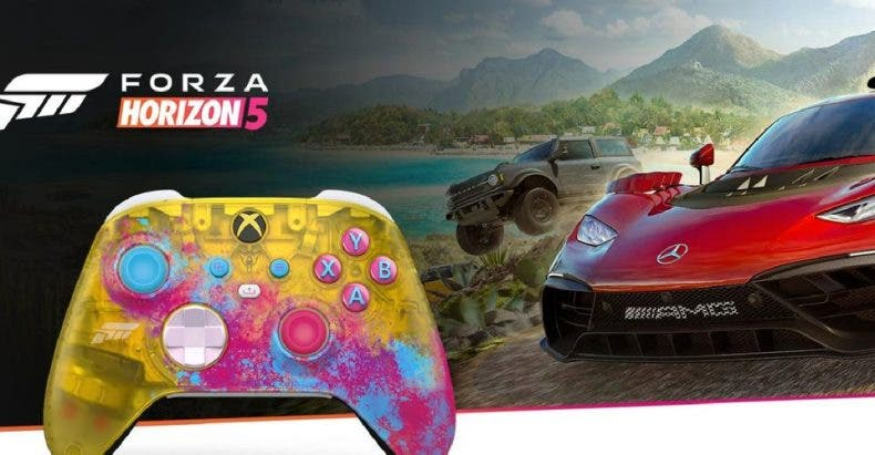 Consigue el Mando de Forza Horizon 5 Edición Limitada para Xbox Series X|S 1