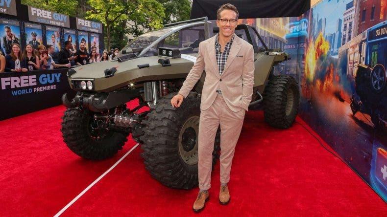 """La nueva película de Ryan Reynolds """"Free Guy"""" muestra vehículos de Halo 1"""