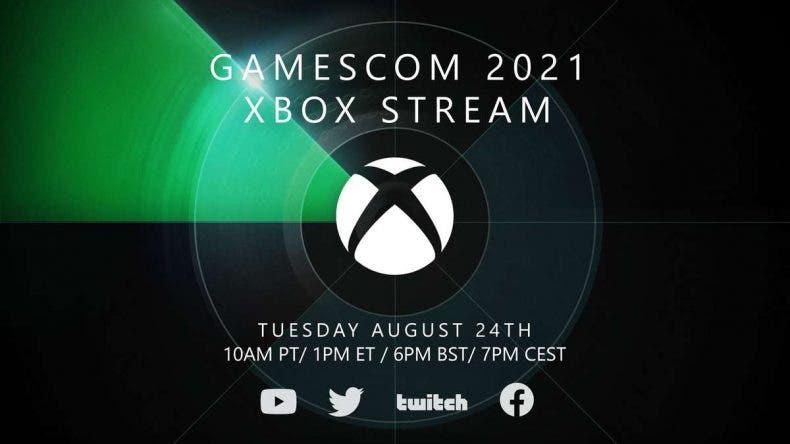 fecha y hora de la conferencia de Xbox en la Gamescom 2021