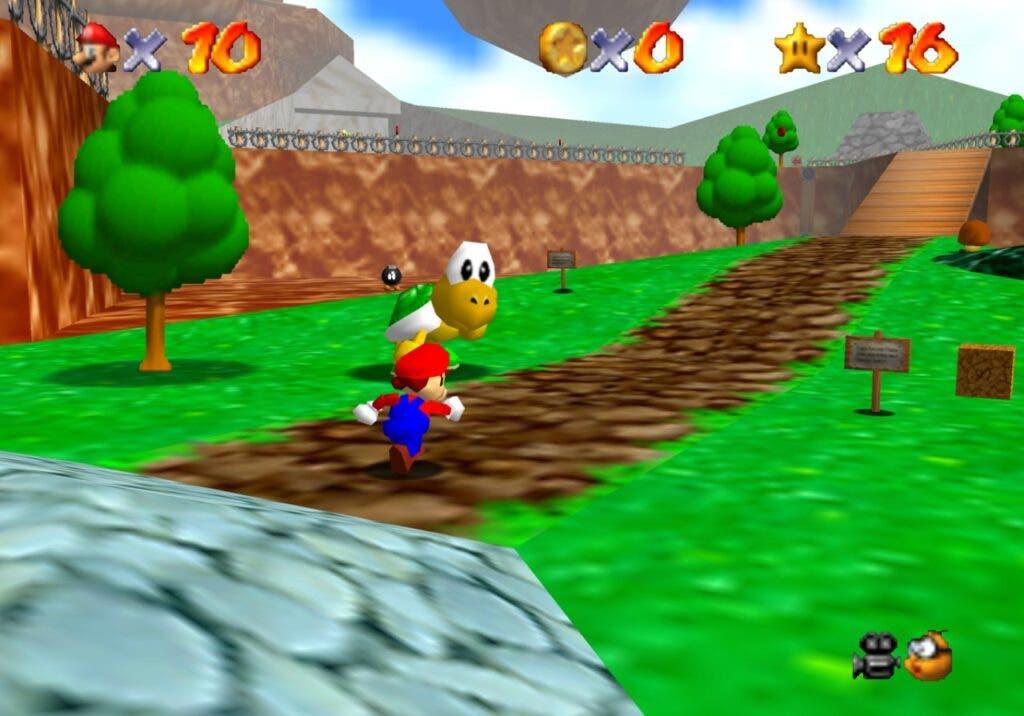 Super Mario 64 en Xbox