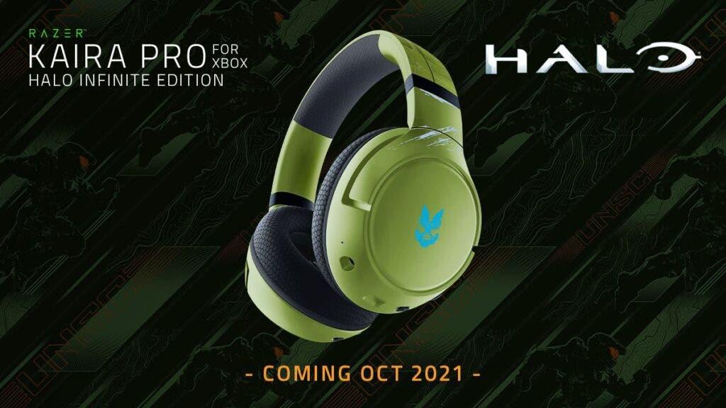 Nuevos auriculares de Halo Infinite de Razer