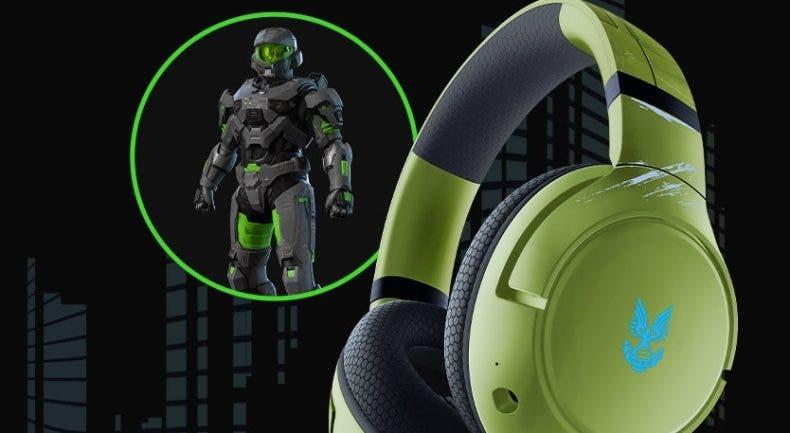 Alucina con estos auriculares de Halo Infinite de Razer para Xbox 1