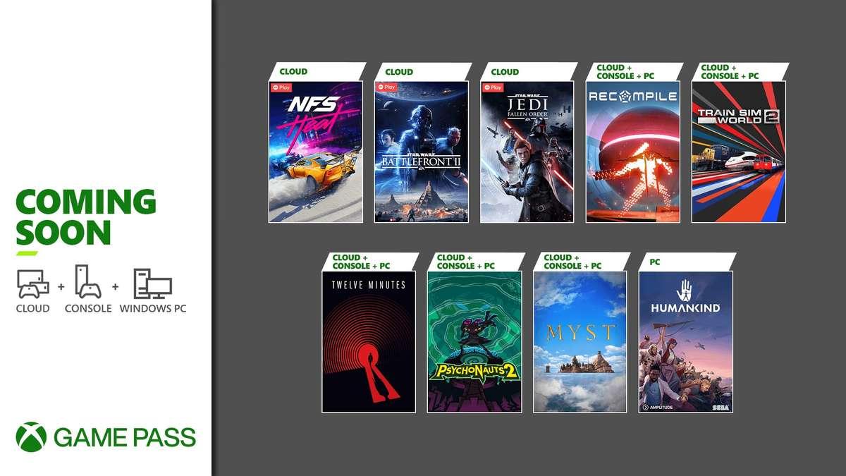nuevos juegos de Xbox Game Pass para finales de agosto 2021