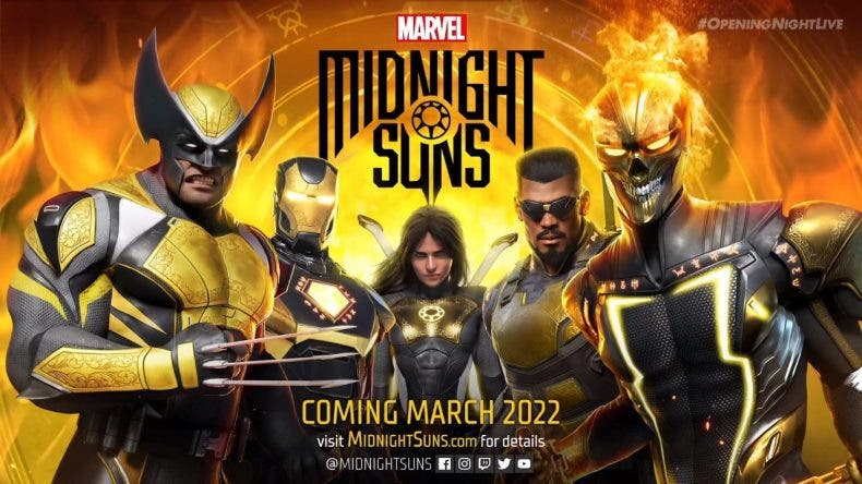 Gamescom 2021: anunciado Marvel Midnight Suns para marzo 2022 1