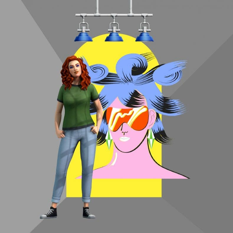 Los Sims 4 presentan el nuevo kit Loft Industrial
