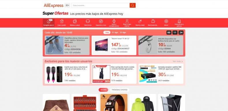 No dejes escapar estas ofertas de AliExpress de hasta un 70% de descuento 1