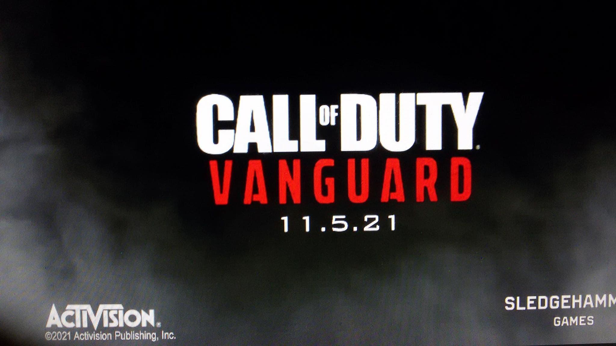 fecha de lanzamiento de Call of Duty Vanguard