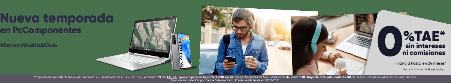 Increíbles ofertas de PcComponentes en su campaña Vuelta al Cole 2021 3