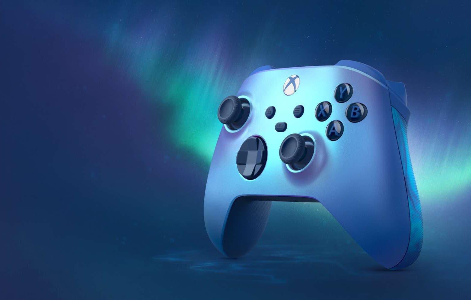 Xbox presenta Aqua Shift, su nuevo mando para Xbox Series X|S 15