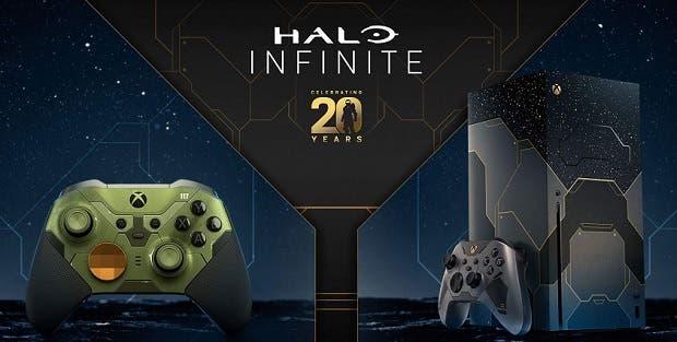 Esta semana habría disponible stock de la edición limitada de Xbox Series X de Halo Infinite 1
