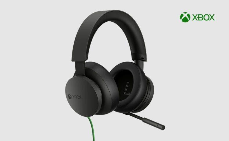 Hazte ya con los Cascos Stereo para Xbox Series X S 1