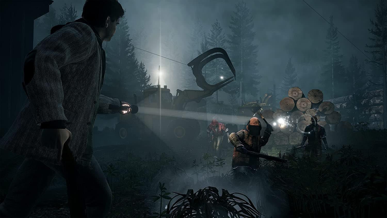 Alan Wake Remastered se deja ver a 4K en un nuevo gameplay 4