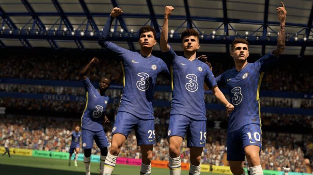 FIFA 22 en Xbox Series S