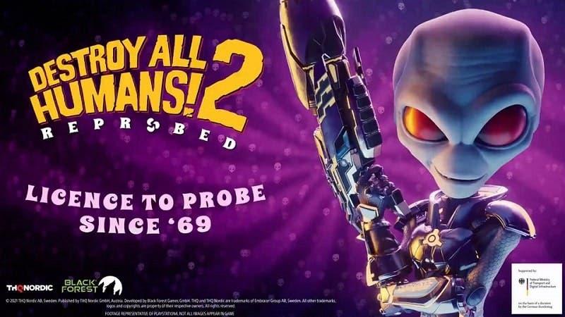 PlayStation leaks Destroy All Humans 2 Reprobed remake