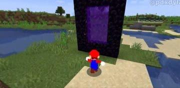 mod de Minecraft incorpora a Super Mario 64