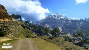 mapa tropical de Call of Duty Warzone