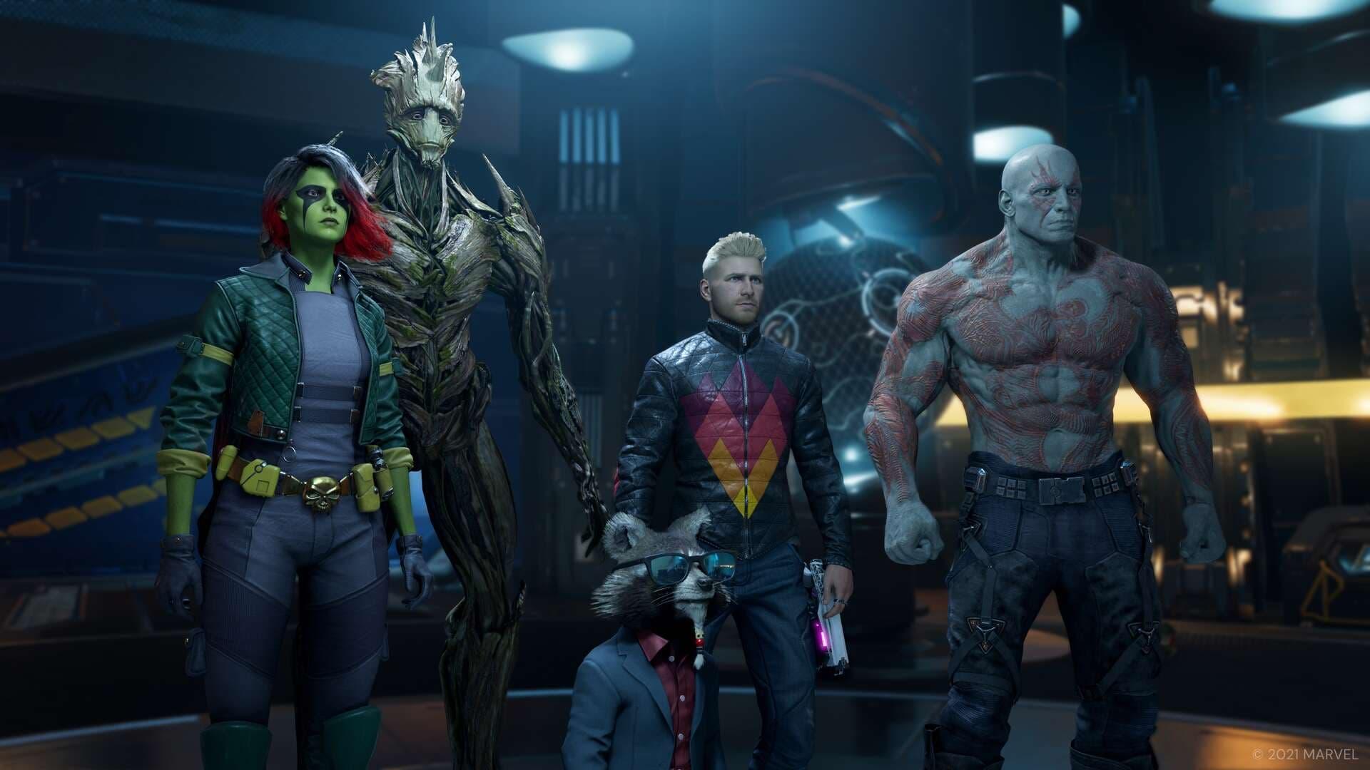 Marvel's Guardians of the Galaxy muestra su trazado de rayos por primera vez