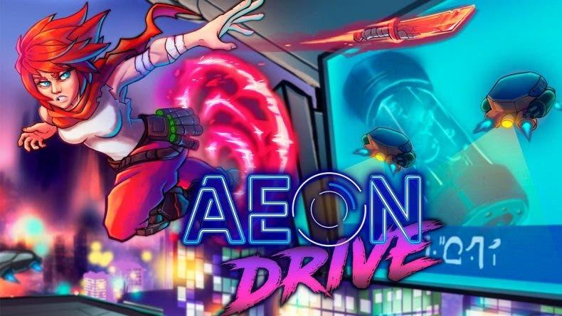 Aeon Drive, título ambientado en una impresionante Barcelona Cyberpunk ya tiene fecha de salida