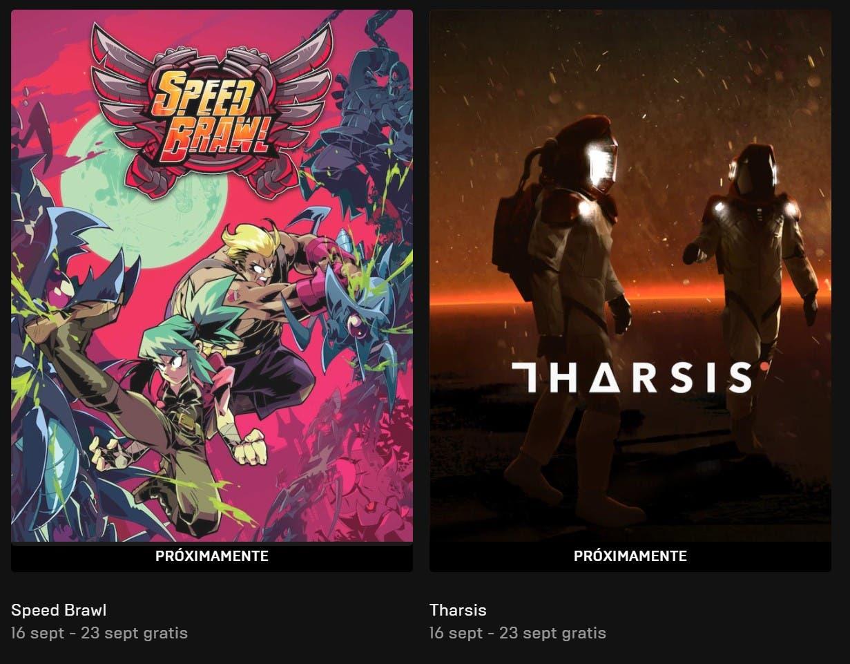 anunciados dos nuevos juegos gratuitos de la Epic Games Store