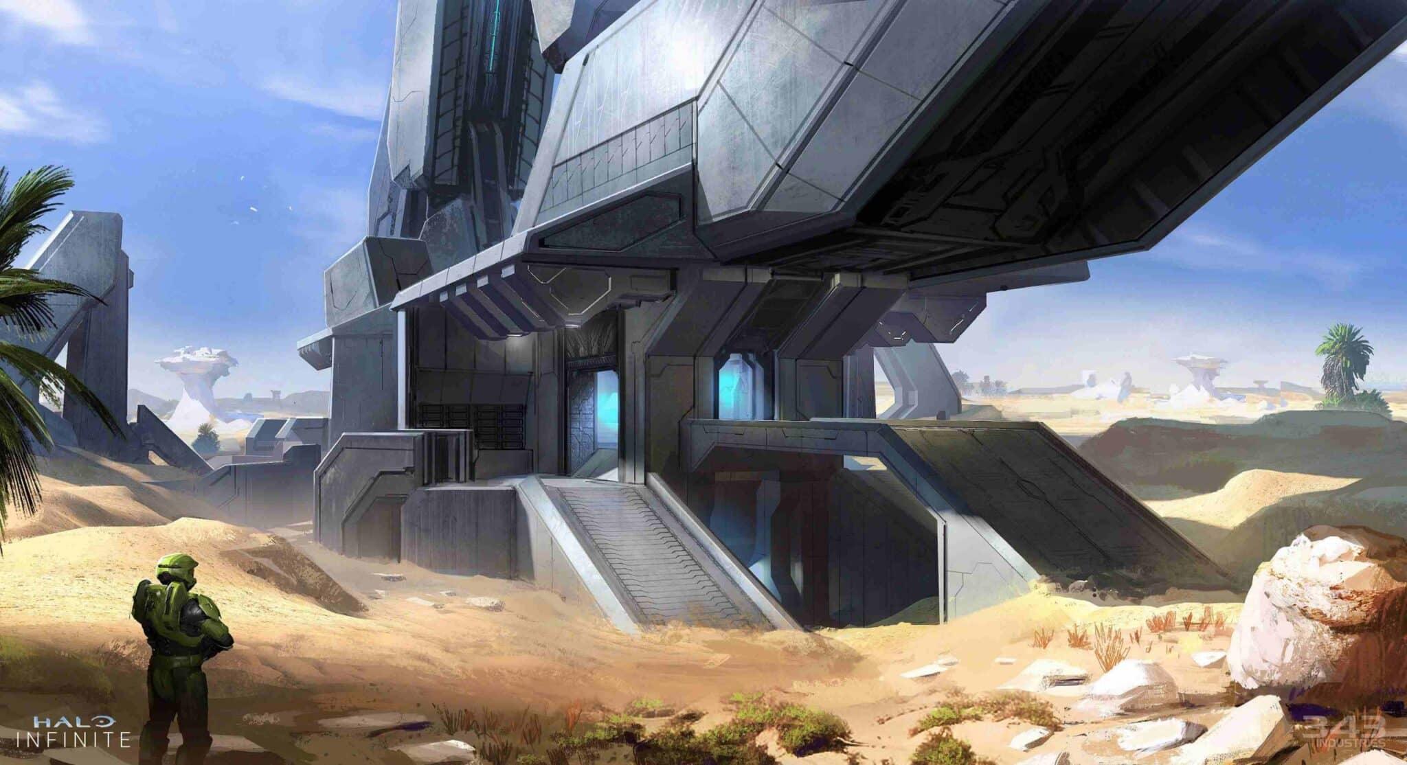 mapa Behemoth de Halo Infinite