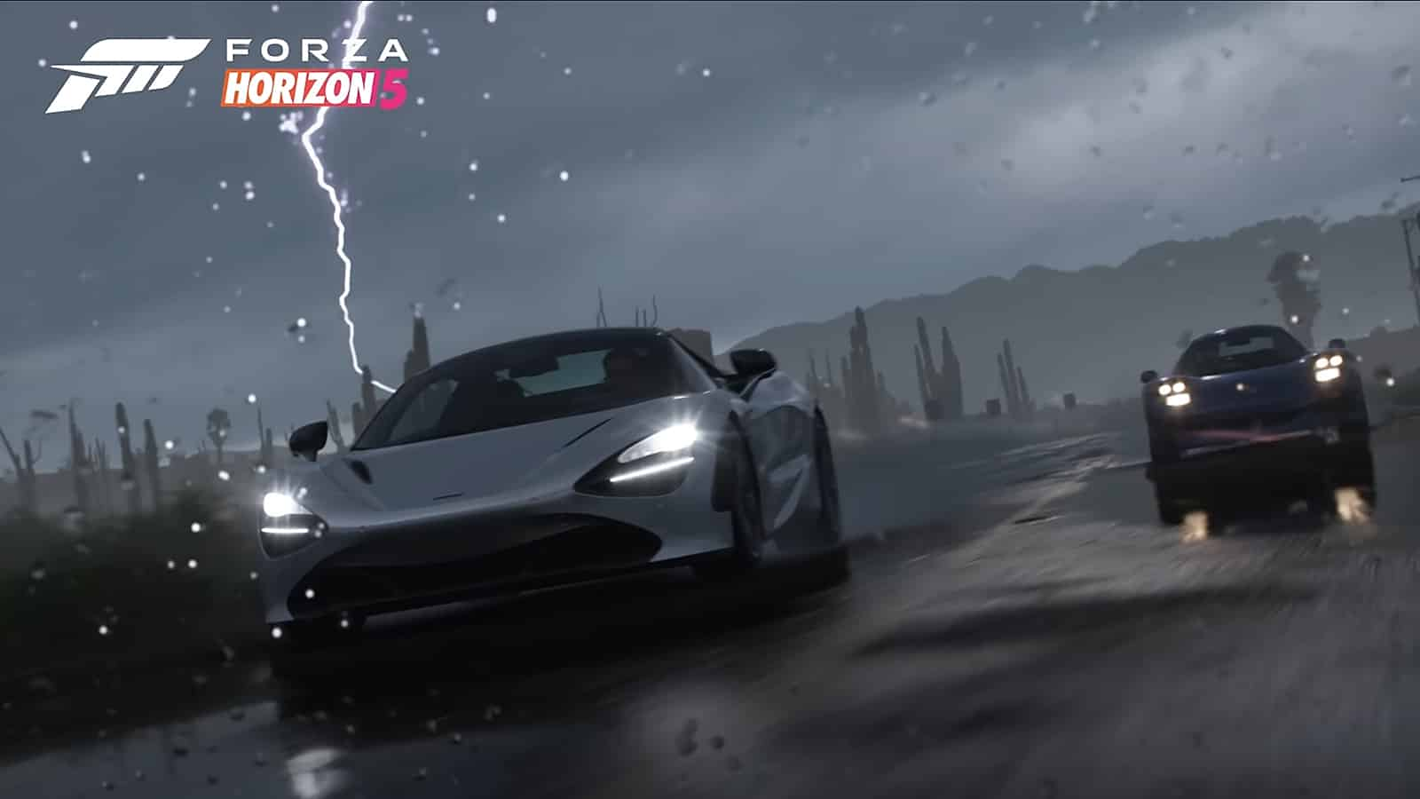 gameplay de Forza Horizon 5 nos lleva a la expedición de una tormenta