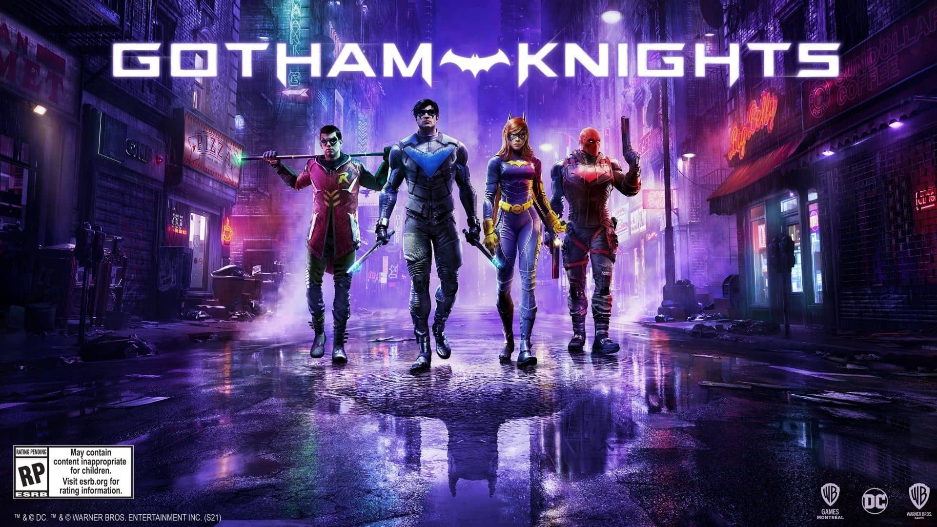 enemigos de Gotham Knights