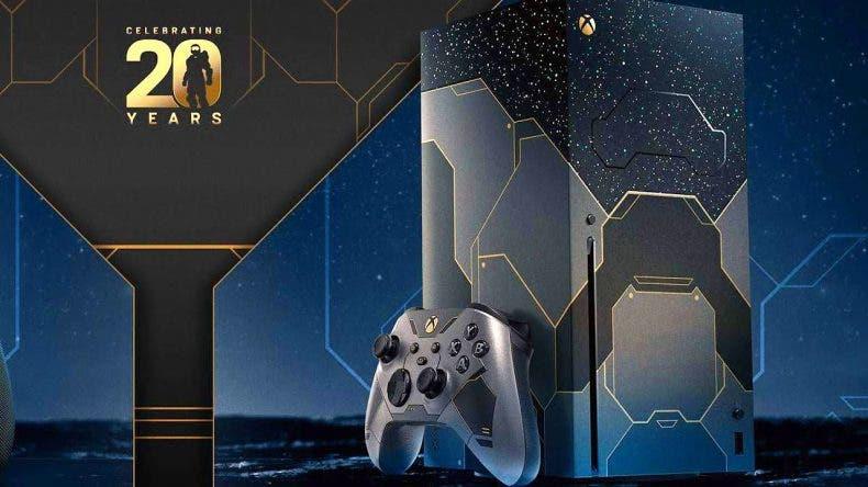 reservas de la Xbox Series X de Halo Infinite