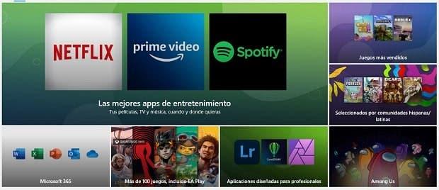 Microsoft Store integra Epic Games Store y Amazon, que no serán los únicos bazares 1
