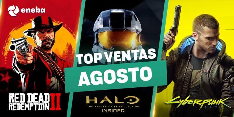 Los 10 juegos de Xbox que más se han vendido en agosto en Eneba 1