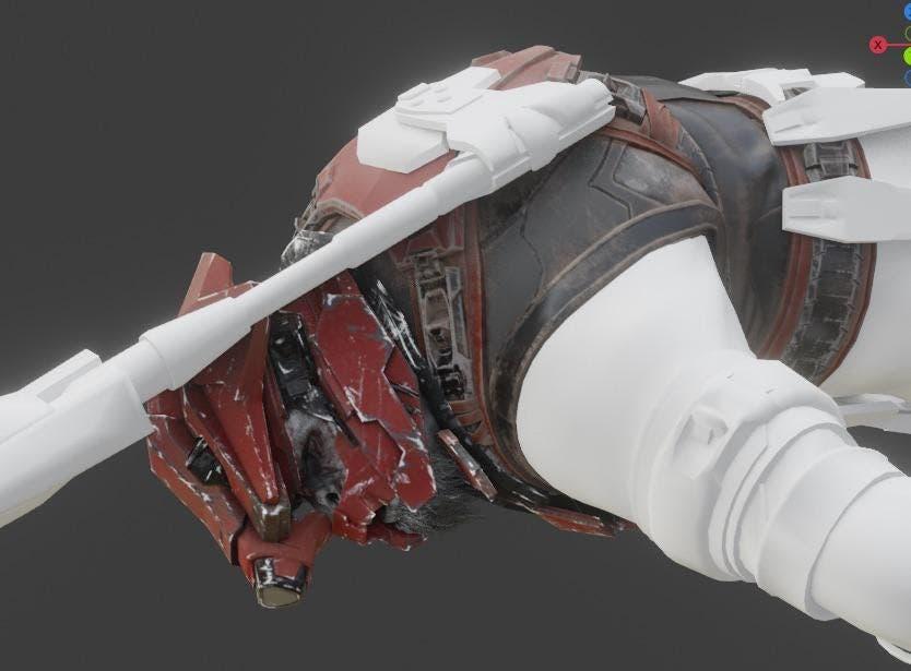 nuevo aspecto que tendrían los Brutes en Halo Infinite