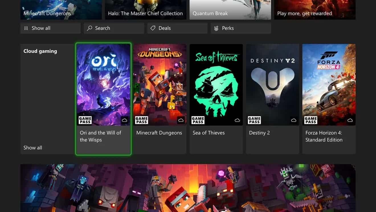 Como jugar a juegos de Xbox Series X en Xbox One