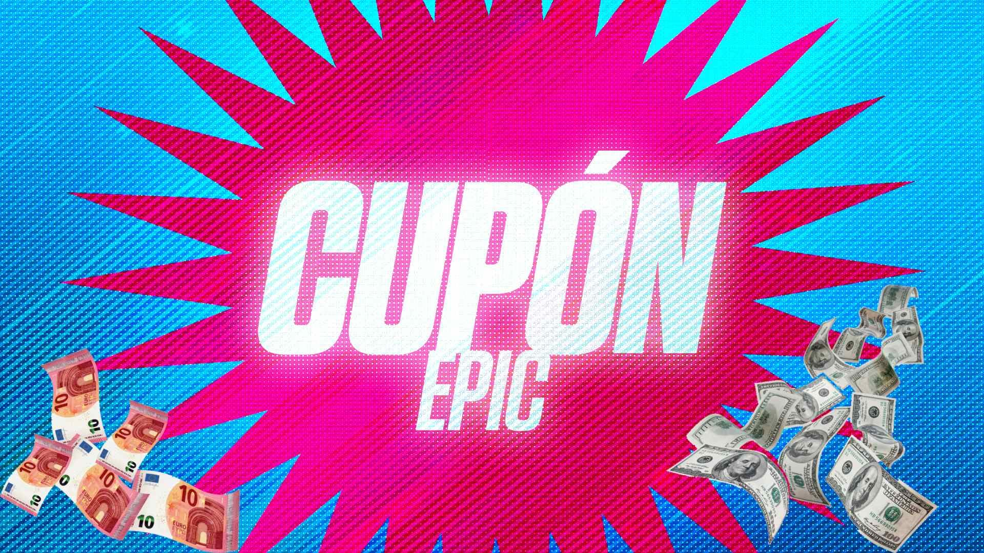 cupón de 10€ gratis para la Epic Games Store