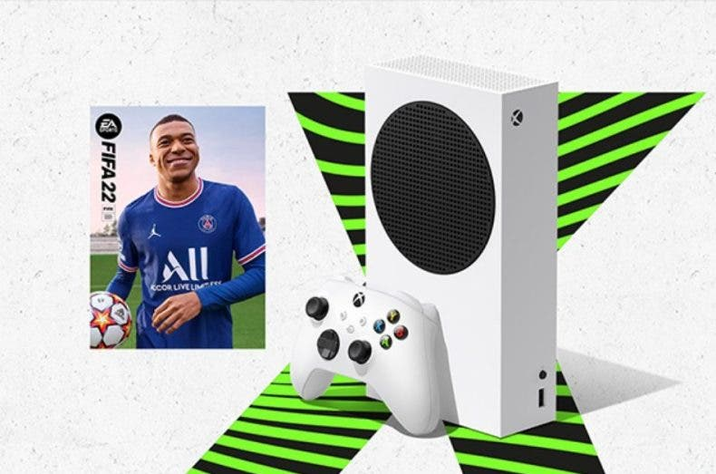 FIFA 22 con la compra de tu Xbox Series S