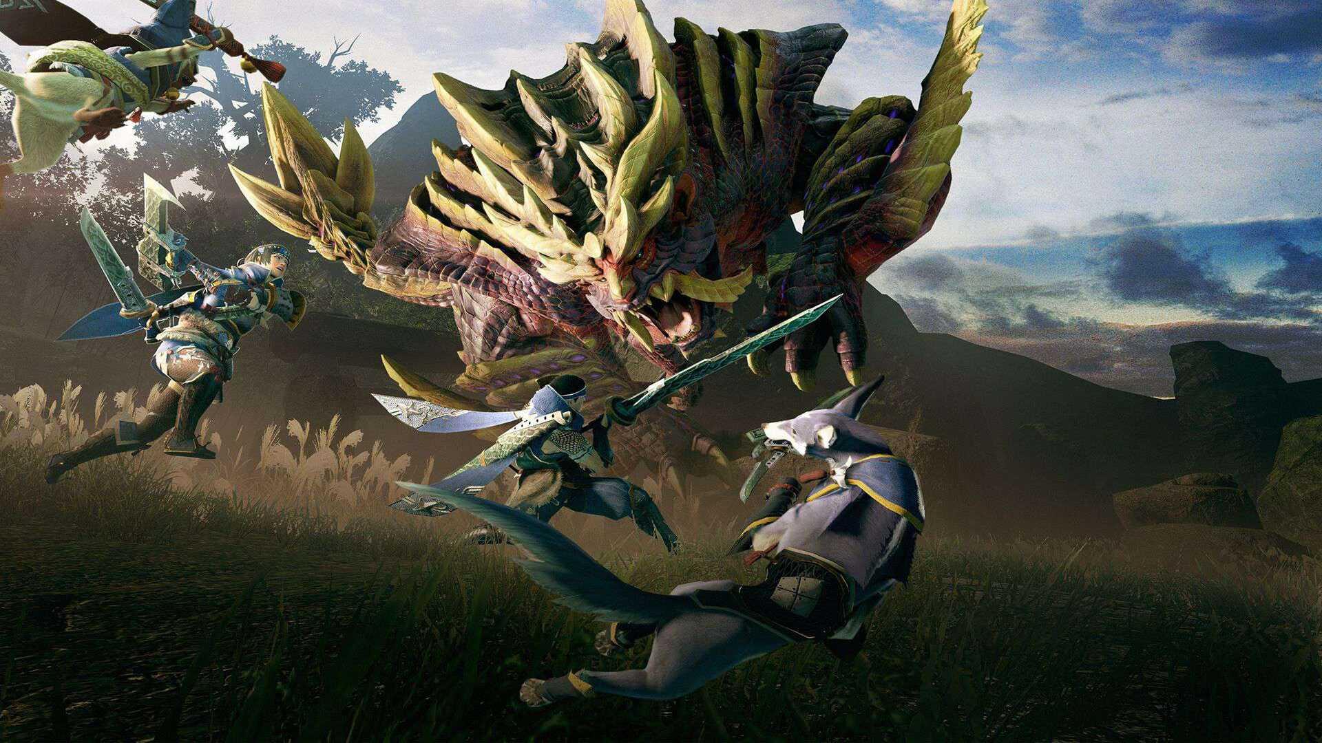Monster Hunter Rise muestra su primer y alucinante gameplay en PC
