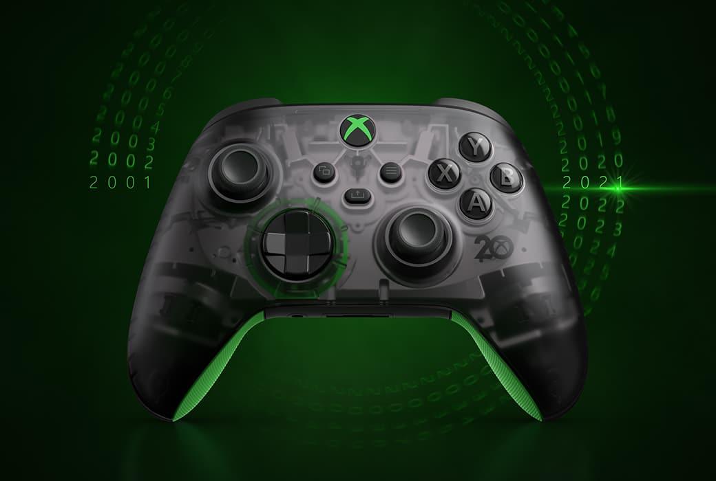 Xbox celebra su 20 aniversario con este espectacular mando 1