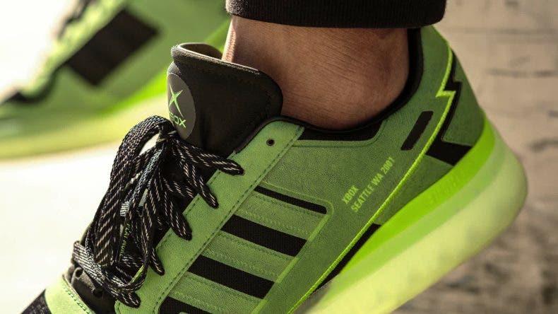 Lanzan unas zapatillas Adidas del 20 aniversario de Xbox 1