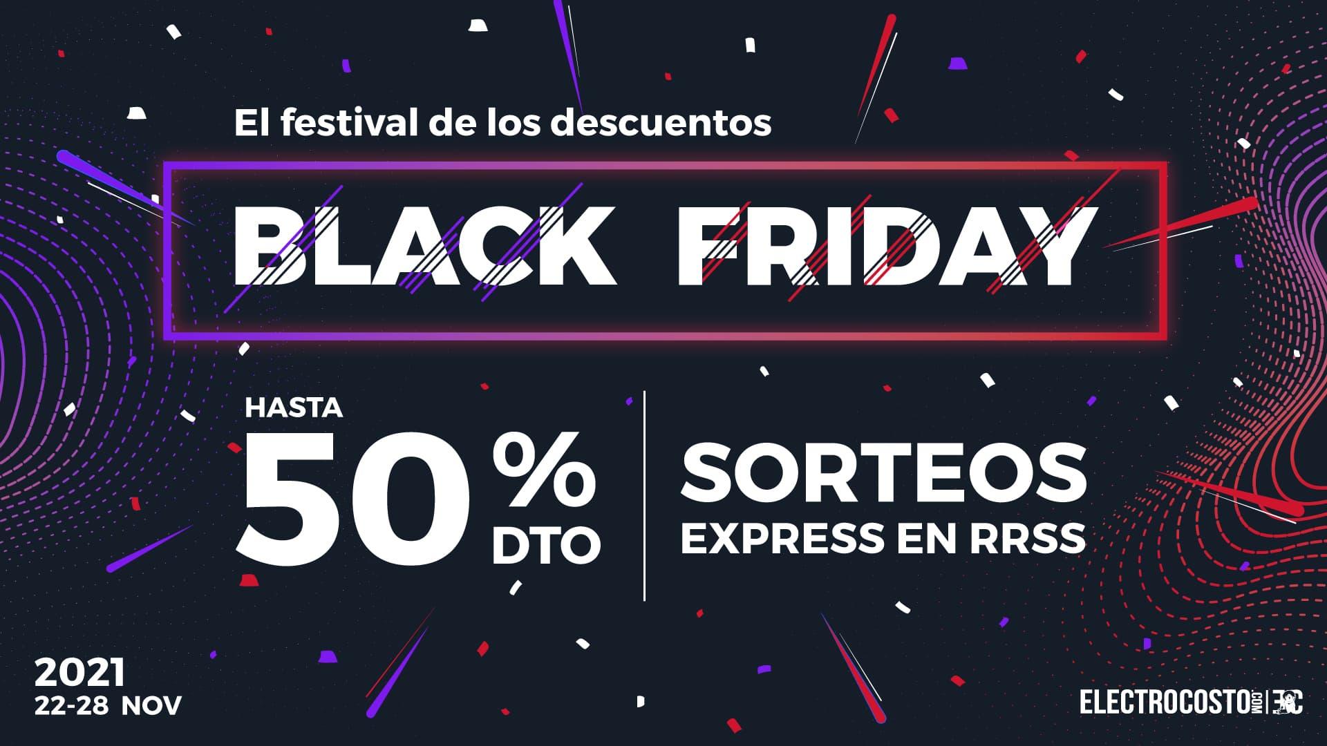 Grandes ofertas de televisores en el Black Friday 2