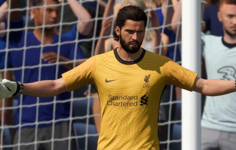 FIFA 22 recibe su primera actualización con cambios en los porteros y la defensa 1