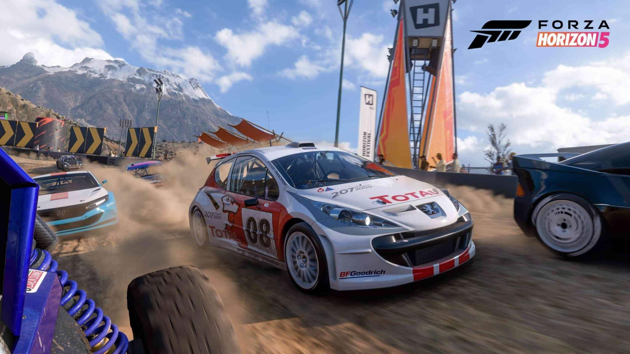 tamaño de descarga de Forza Horizon 5 en Xbox