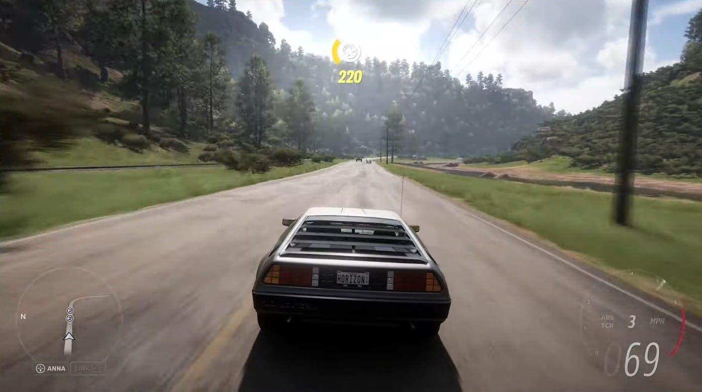 Delorean DMC-12 estará en Forza Horizon 5