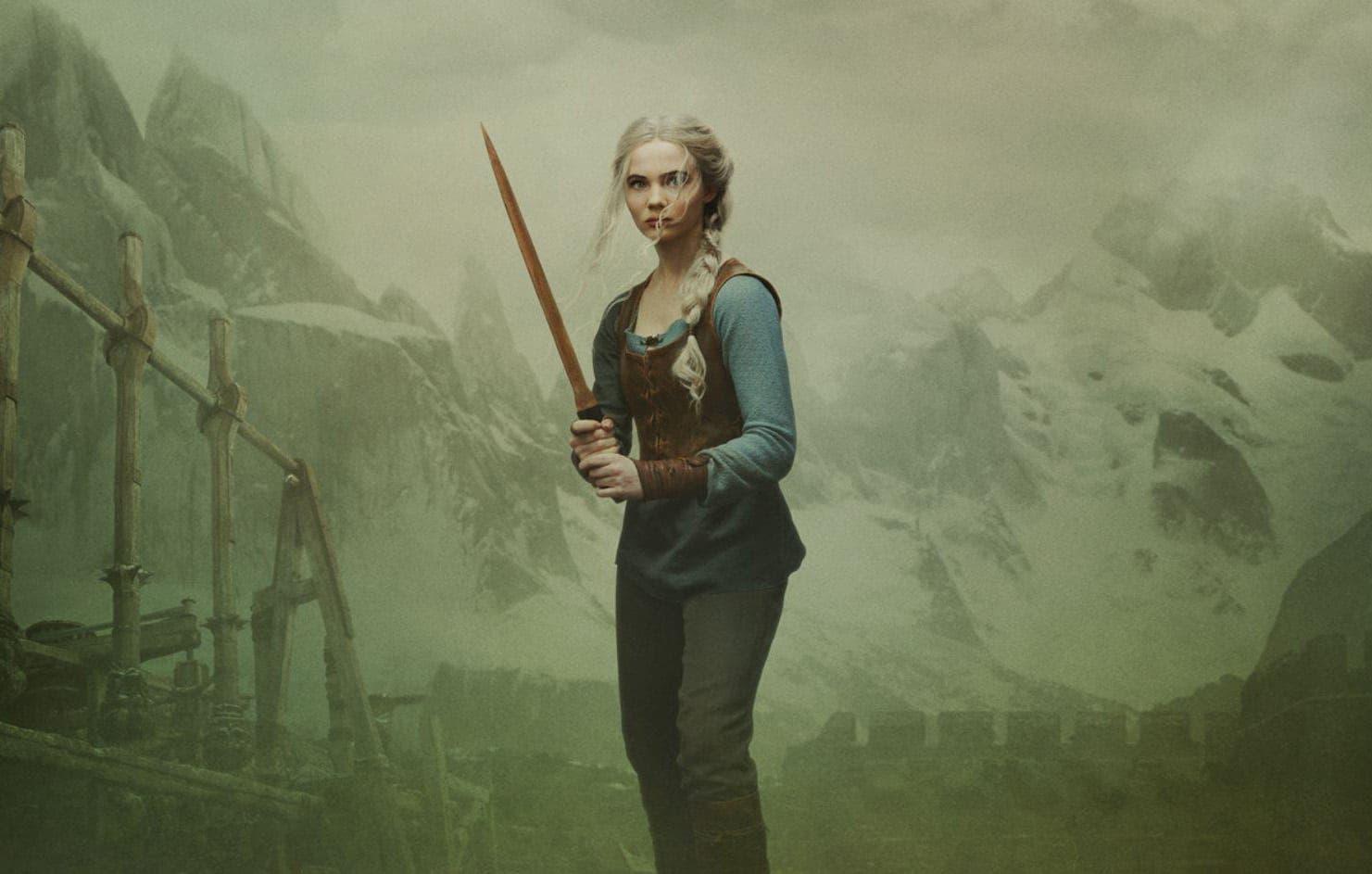 Así son los pósters de Geralt, Ciri y Yennefer en la temporada 2 de The Witcher 5