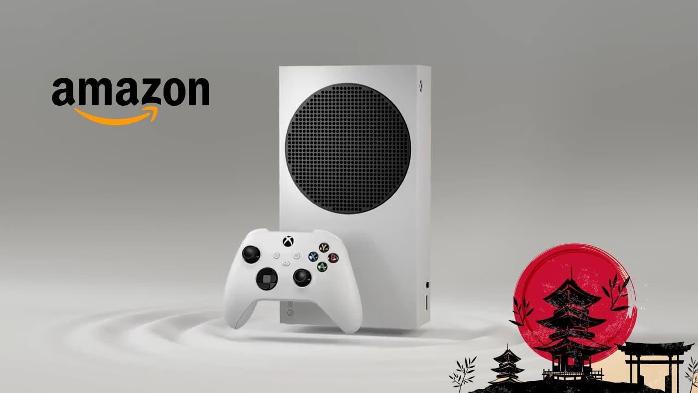 Xbox Series S es lo más vendido de Amazon Japón