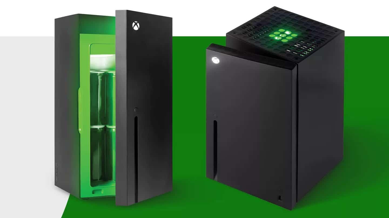 mini nevera de Xbox